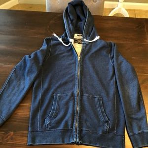 Abercrombie & Fitch Men's Navy Hoodie
